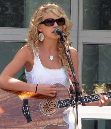 31. Which of the following shows has Taylor Swift appeared in?