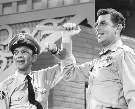 7. Which 60s show features Barney Fyfe and Aunt Bee?