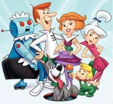 6. Which 60s show is centered around futurism and features a robot named Rosie?