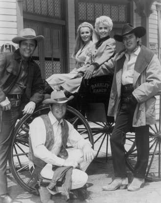 26. Which 60s show stars Barbara Stanwyck, the widow of a wealthy California rancher in the nineteenth century?
