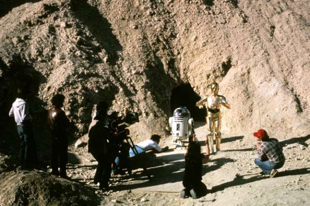19. Where does Uncle Owen tell Luke to take R2 for a memory erase?