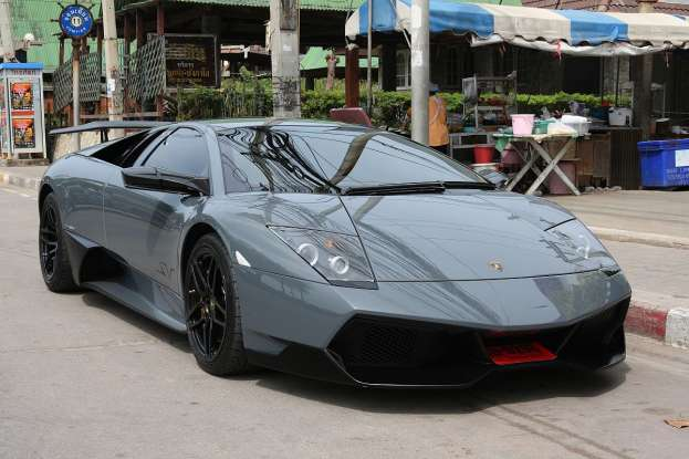 9. Which exotic car is this?