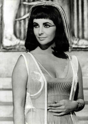 1. Which 1960s film stars Elizabeth Taylor as the titular Egyptian queen?