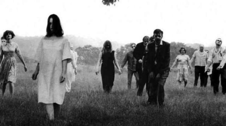 28. Which 1960s horror film directed by George A. Romero is largely regarded as the first modern zombie movie?