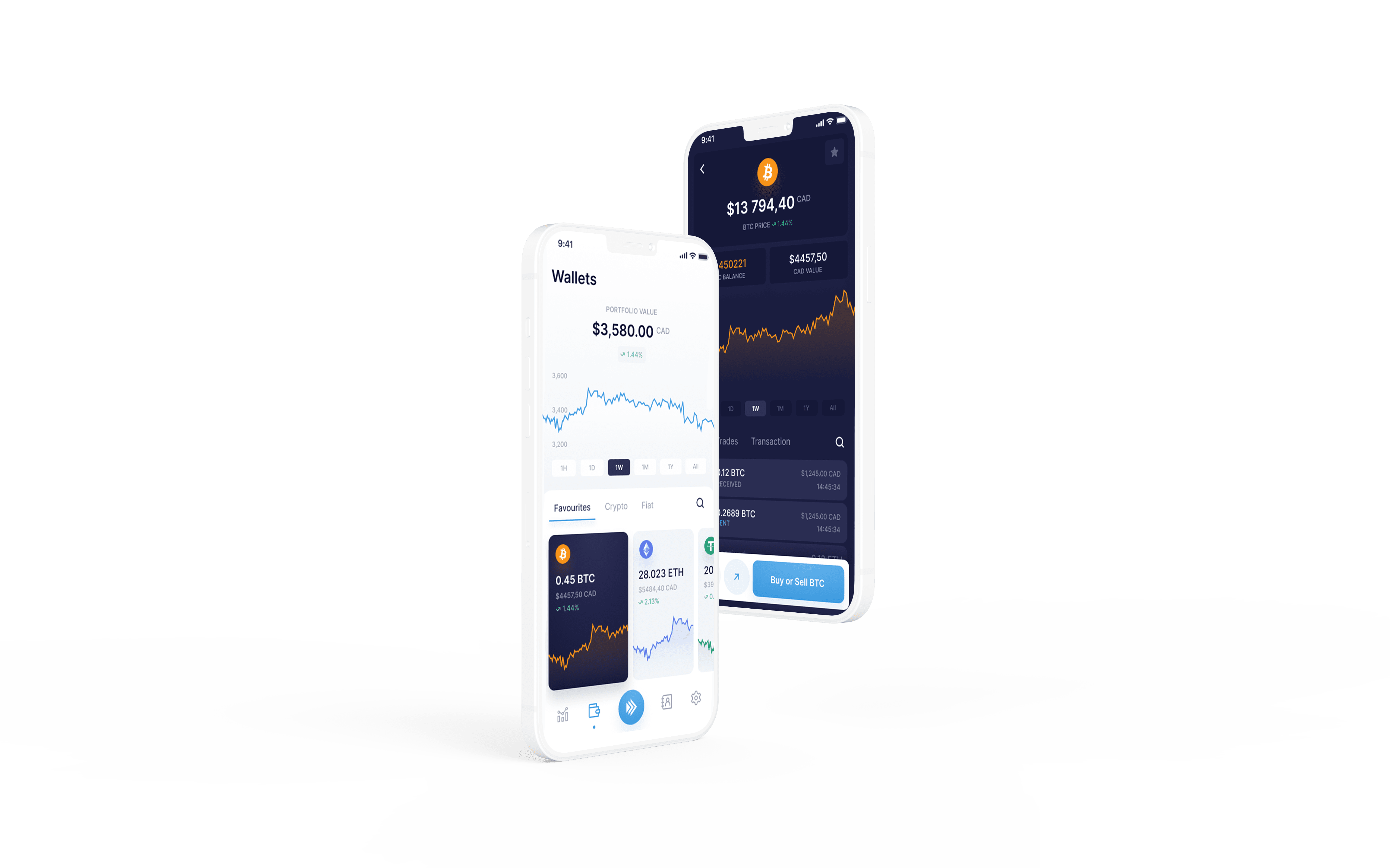 NDAX - trading application