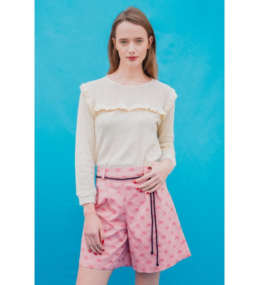Gummi High-Waisted Shorts