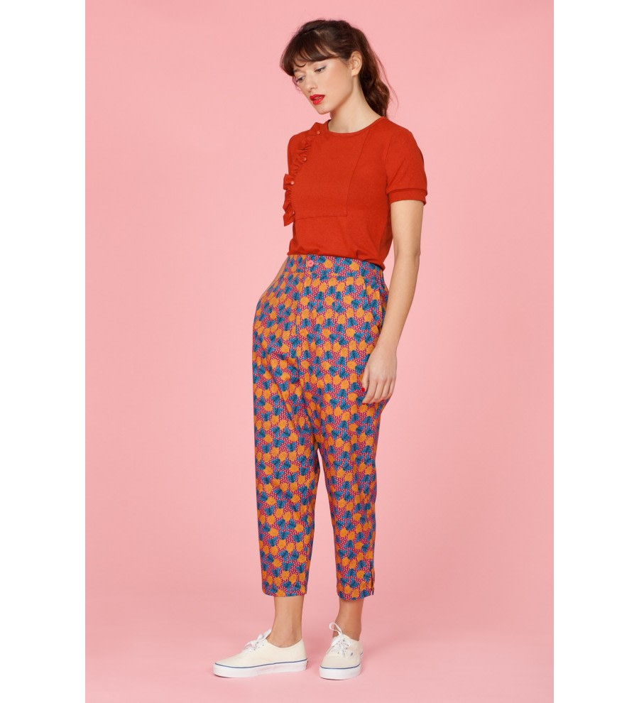 Pineapple Print Trousers