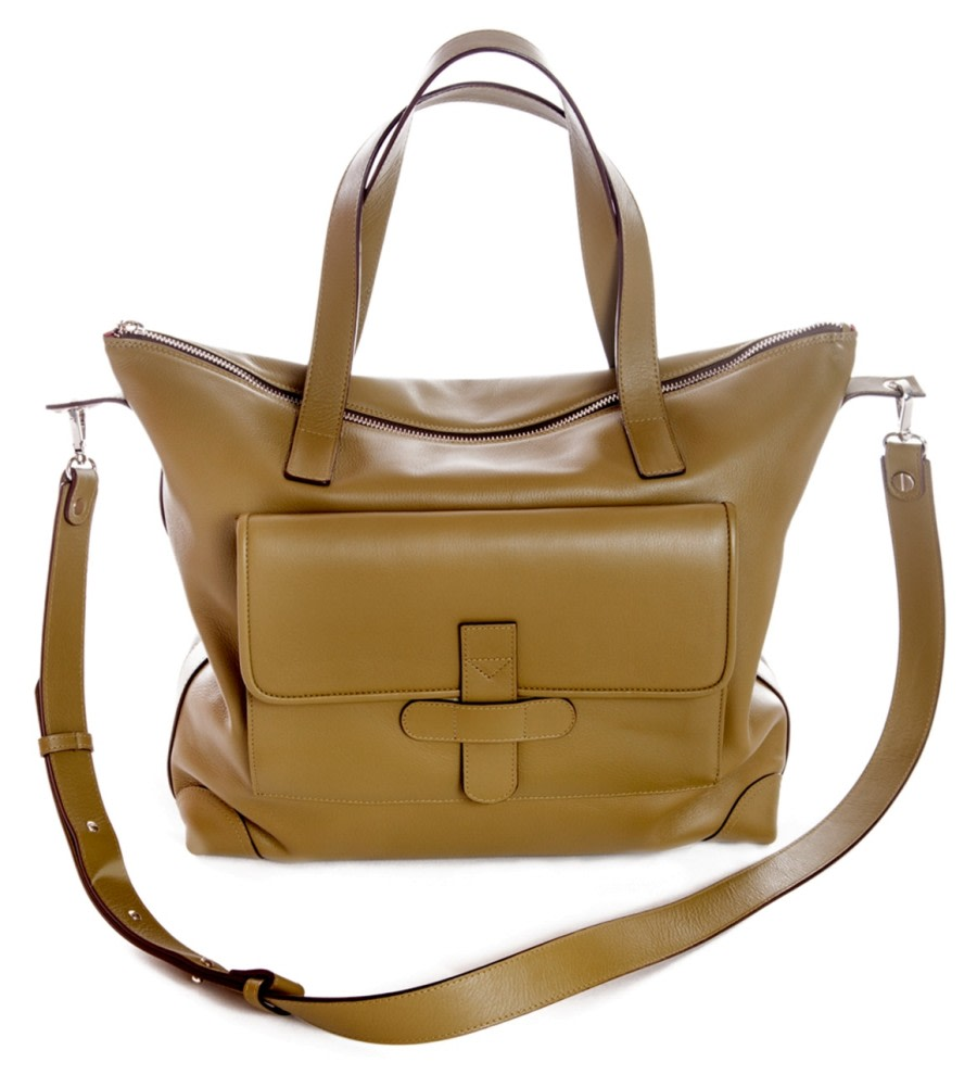 Birmania Leather Shoulder Bag