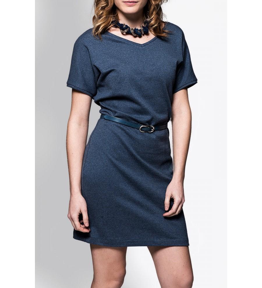 Short-Sleeved Organic Cotton Dress