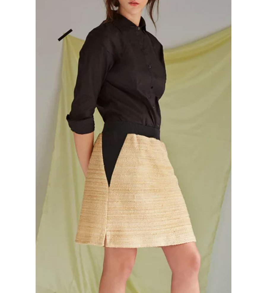 Nanda Organic Cotton-Hemp Skirt