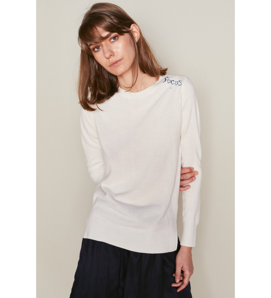 Focus Round-Neck Jumper