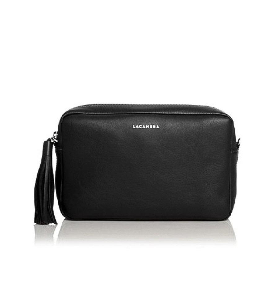 Black Tassel Crossbody Bag
