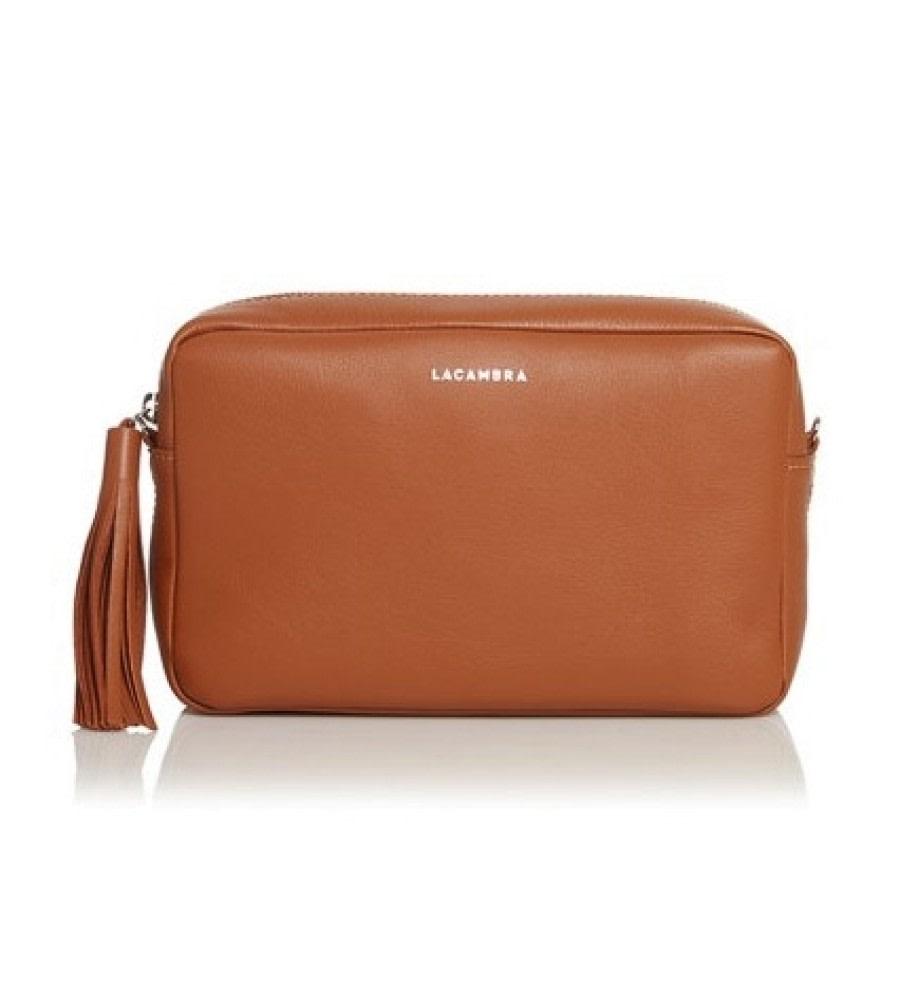 Brown Tassel Crossbody Bag