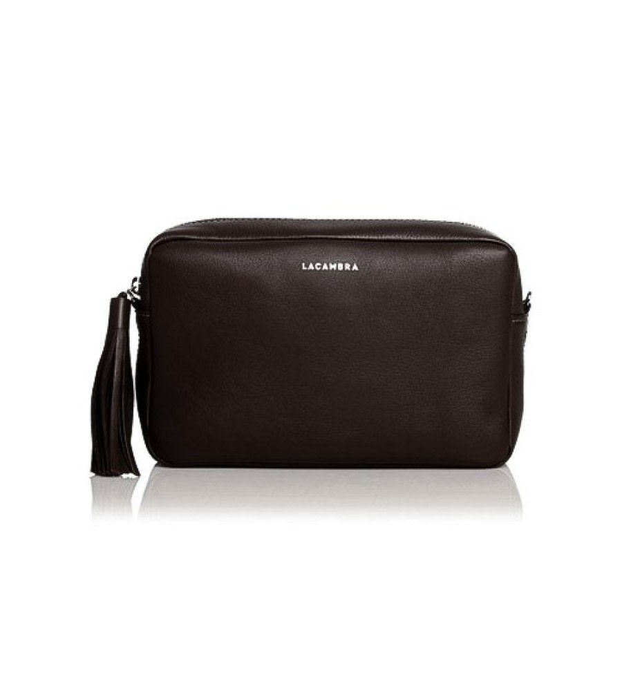 Caoba Leather Crossbody Bag