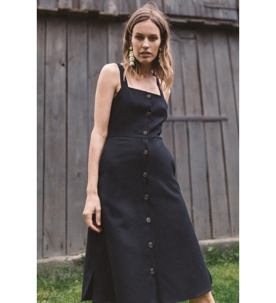 Luca Organic Cotton Strap Dress