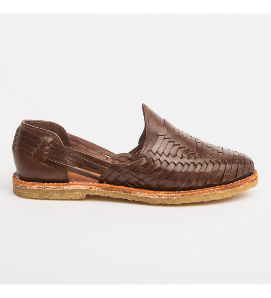 Mara Coffee Woven Loafers