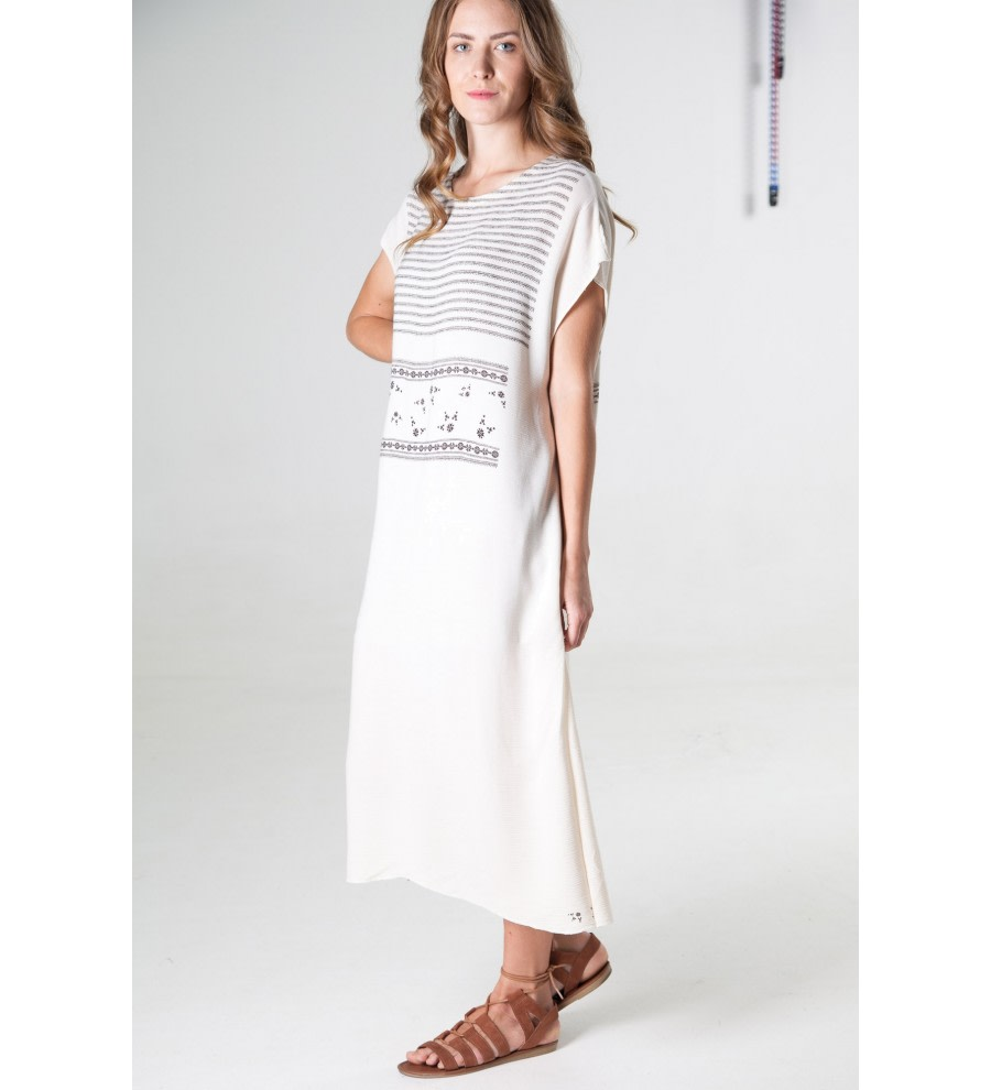 Poka Maxi Tunic Dress