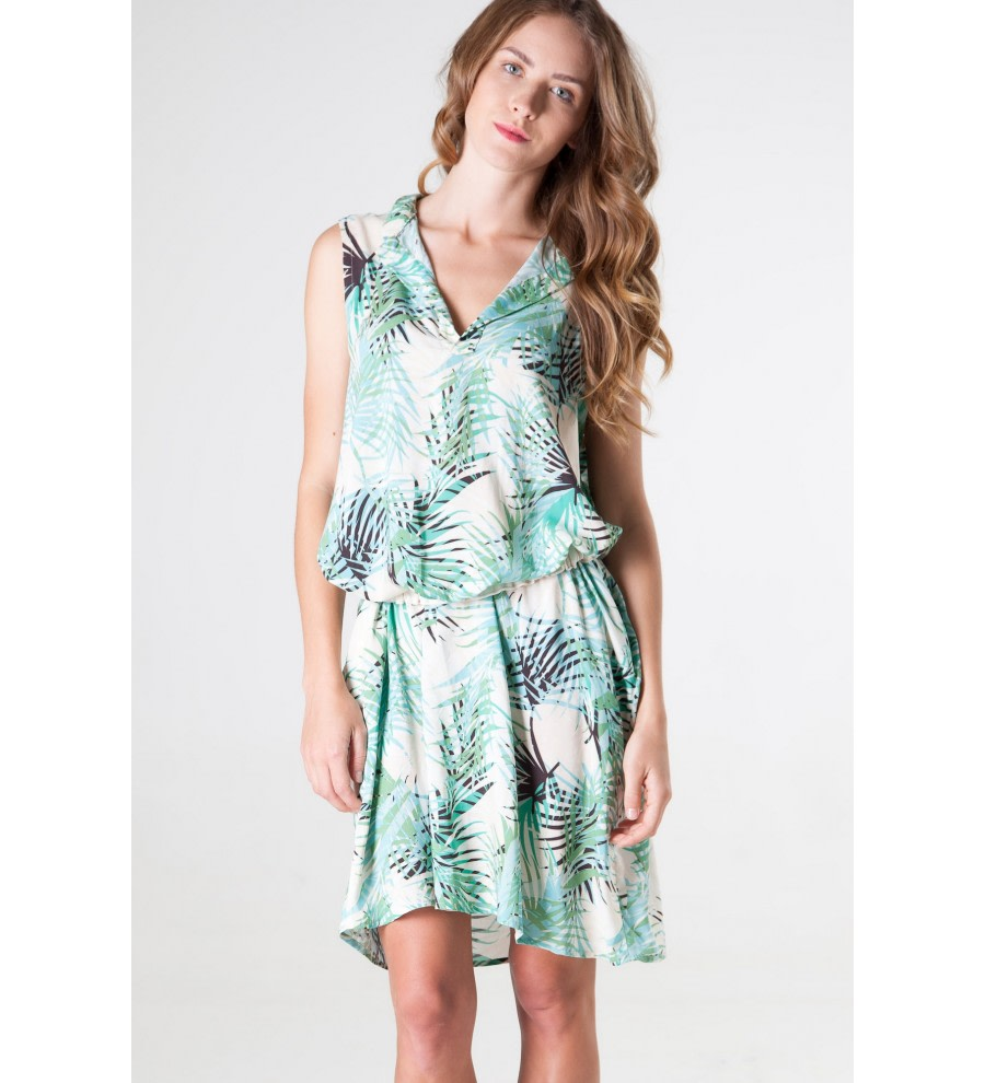 Bolly Jungle-Print Dress