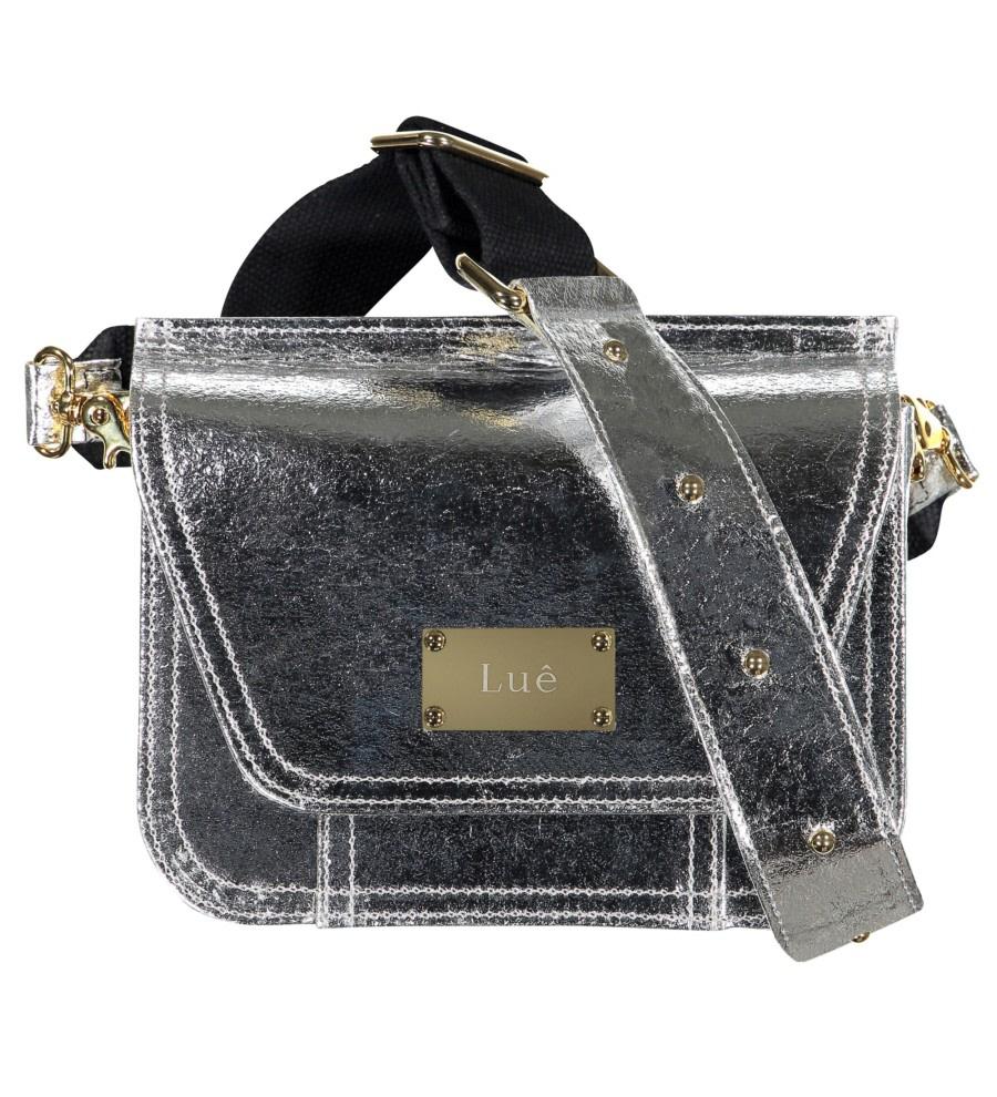 Silver Piñatex Belt Bag