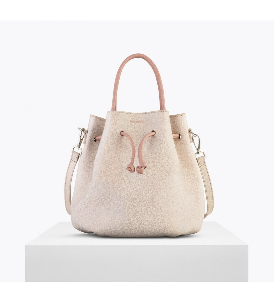Tulipa Bio Leather Bucket Bag