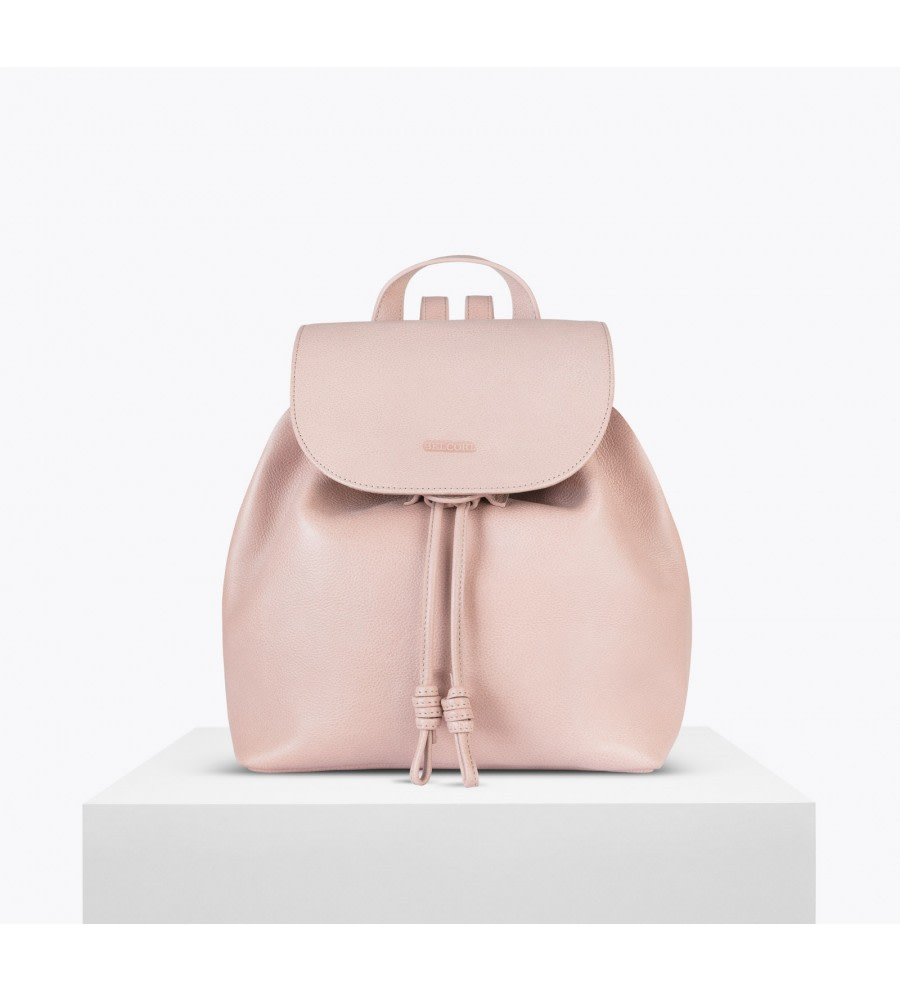 Tulipa Pink Bio Leather Backpack