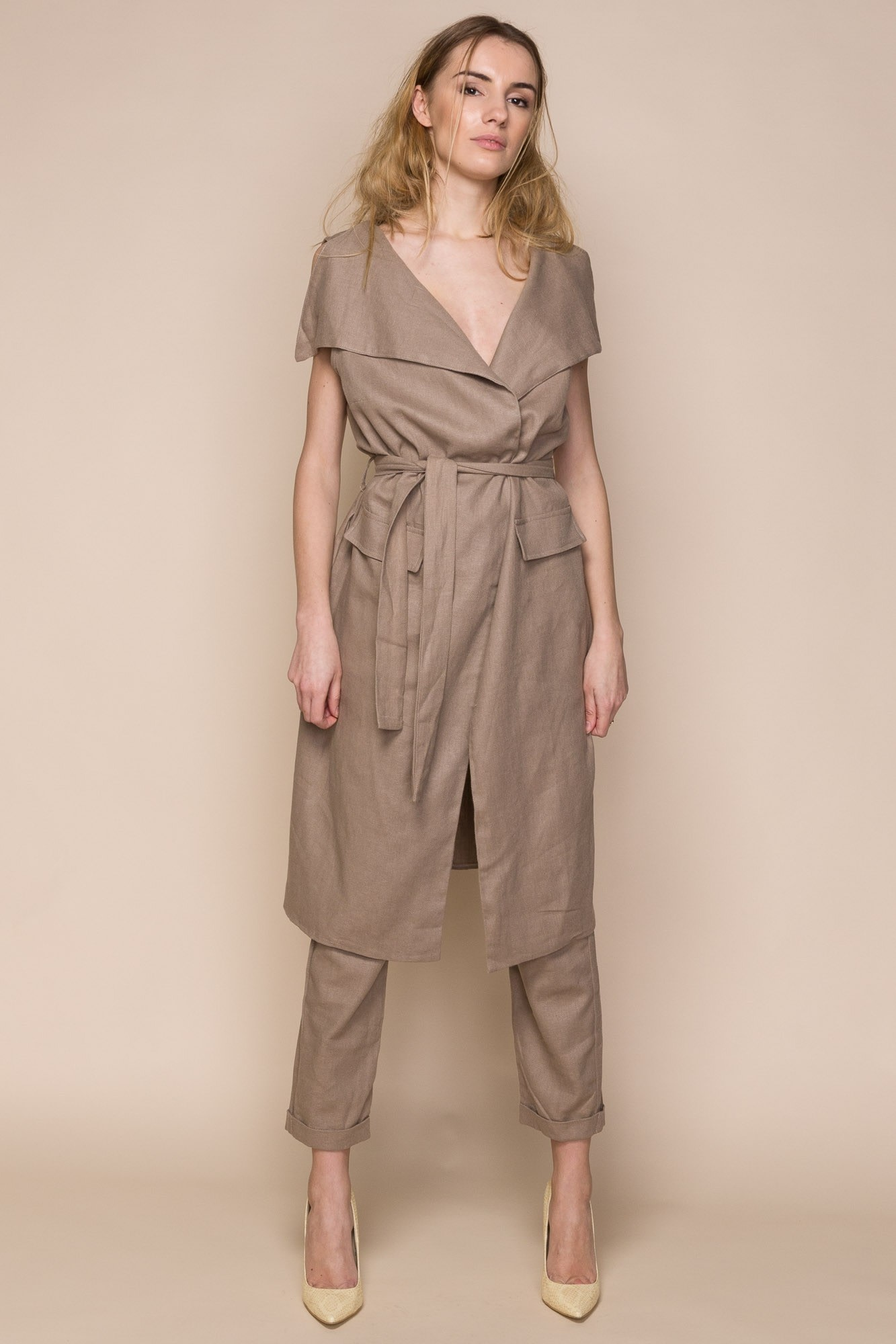 ebd13c18240c Linen Vest and Trousers Co-Ord Set | Sustainable, Slow Fashion | NEW ...