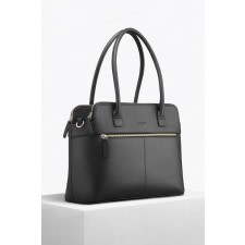 Black Bio Leather Tote Bag