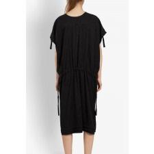 Oversized Tencel Tunic Dress