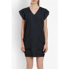 Pleated Tencel Dress