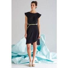 Arat Black Organic Cotton Dress