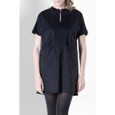 Coco Black Suede Dress