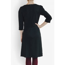 Silene Black Mid Dress