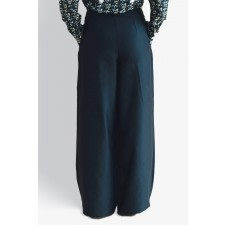 Camelia Wide-Leg Trousers