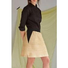 Nanda Organic Cotton-Hemp Skirt