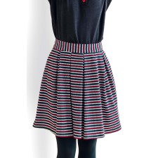 Greta Striped Skirt
