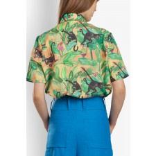 Magnum Tropical-Print Shirt