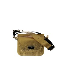 Gold Piñatex Belt Bag