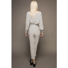 Grid-Print Co-Ordinate Set