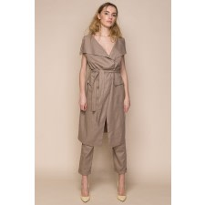 Linen Vest and Trousers Co-Ord Set