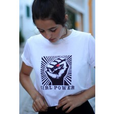 Organic T-shirt Girl Power