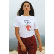 Organic T-shirt Like a Peach