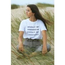 Organic T-shirt Respect