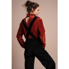 Detachable Cotton Overall Jumpsuit