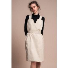 Nola Organic Cotton Wrap Dress