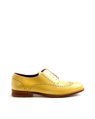 Ethel Lemon Leather Brogues