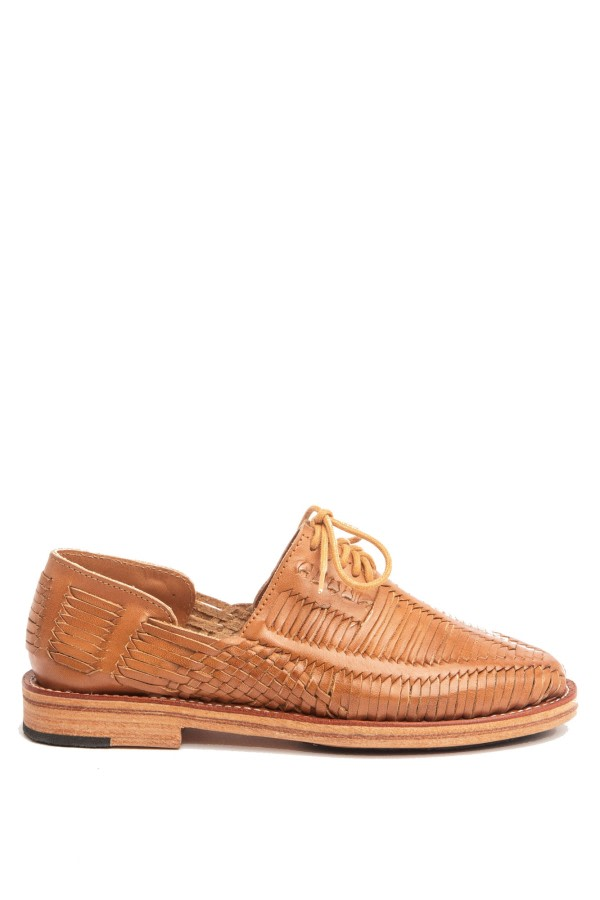 Benito Cognac Leather Loafers