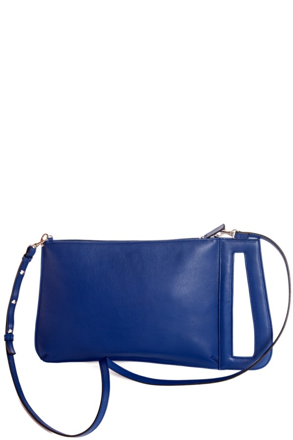 Serrucho Blue Clutch