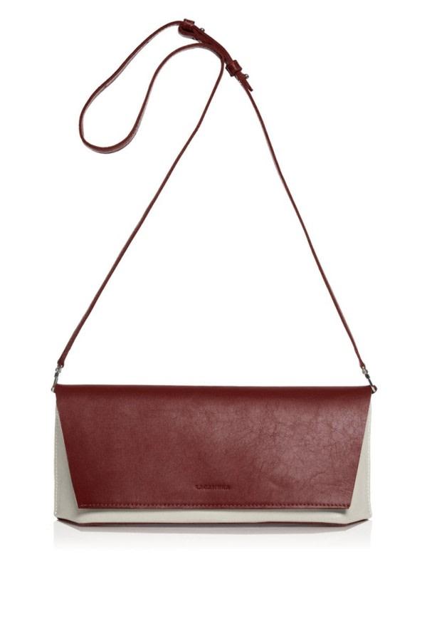 Capote Mini Leather Clutch