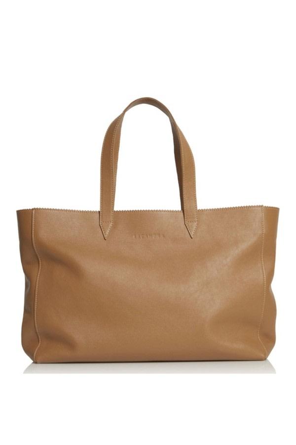 Large Leather Shopper Bag