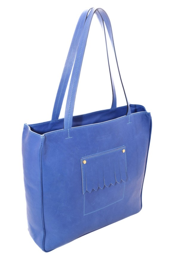 LOUISE BLUE TOTE